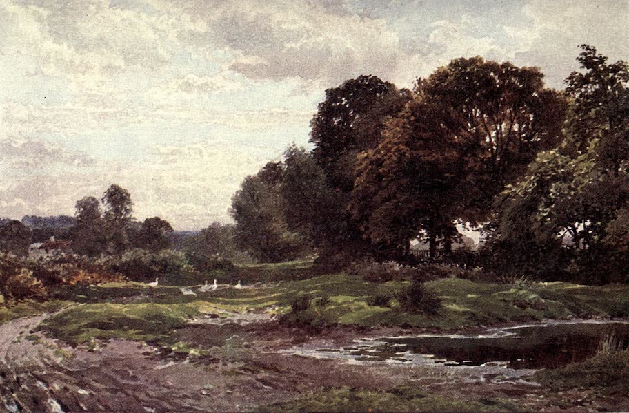 Surrey Painted and Described - Amberley Village (1922)