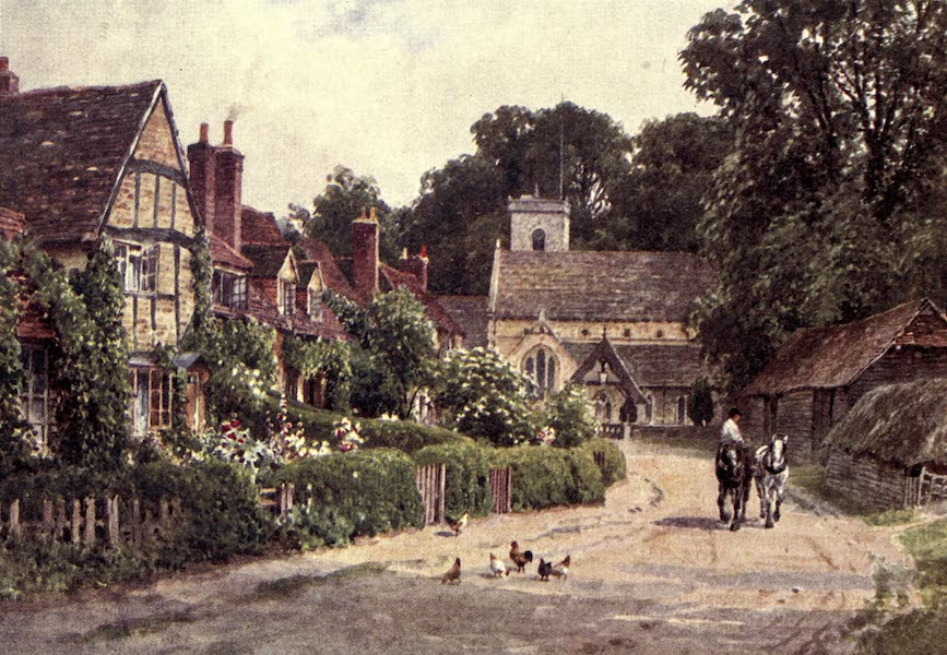 Surrey Painted and Described - Bramber Castle (1922)