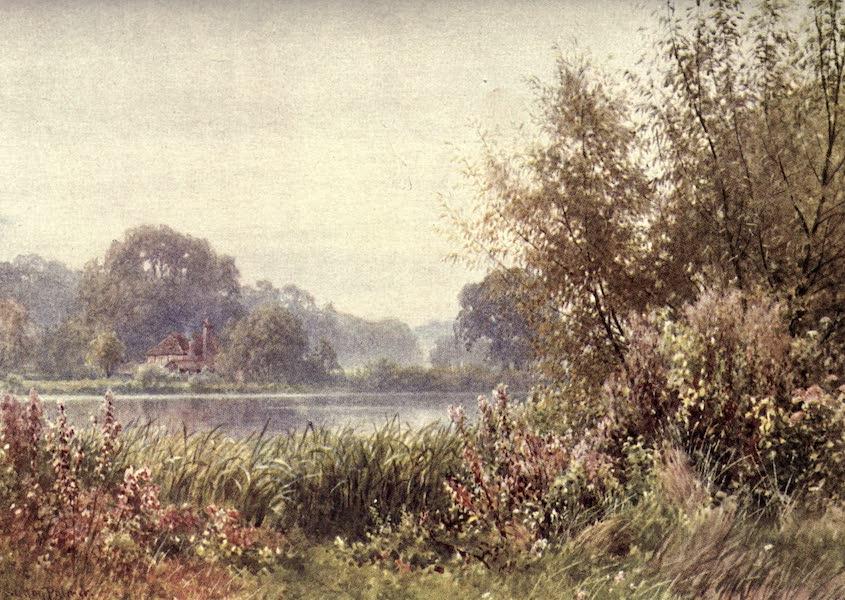 Surrey Painted and Described - Arundel Castle (Evening) (1922)