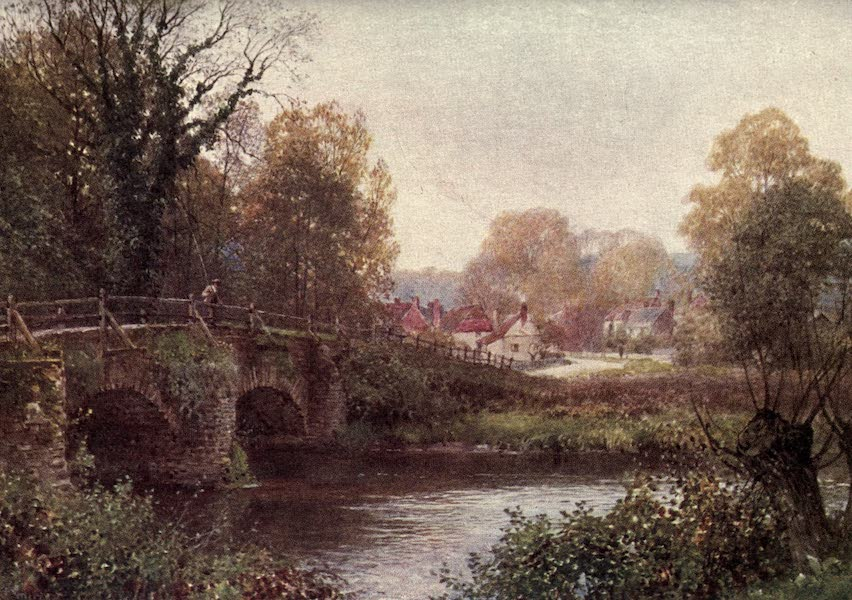 Surrey Painted and Described - The Rother at Fittleworth (1922)