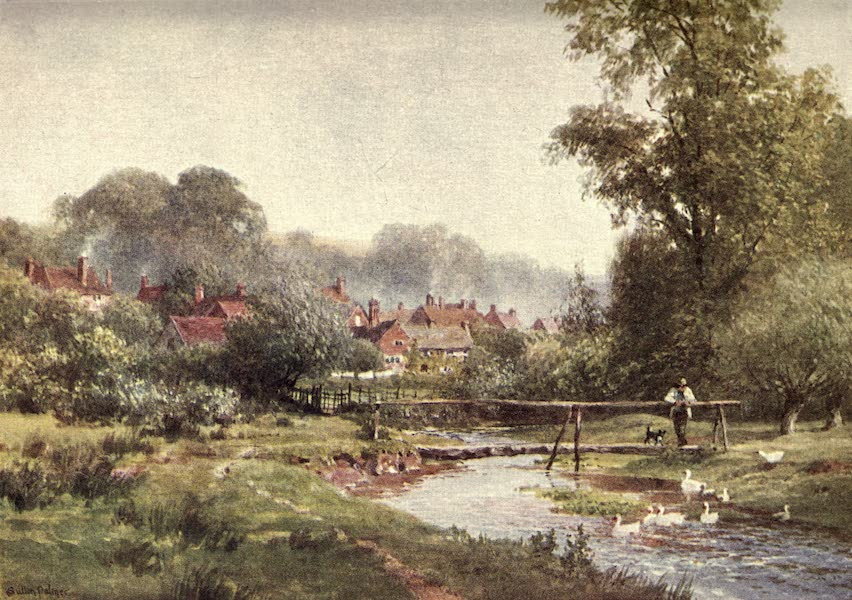 Surrey Painted and Described - Near Pevensey (1922)