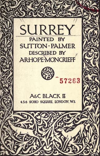 Chromolithography - Surrey Painted and Described
