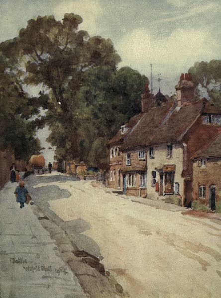 Sussex Painted and Described - Lewes Castle (1906)