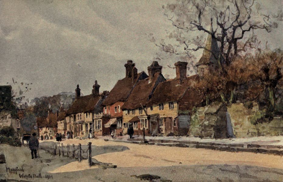 Sussex Painted and Described - Mayfield (1906)