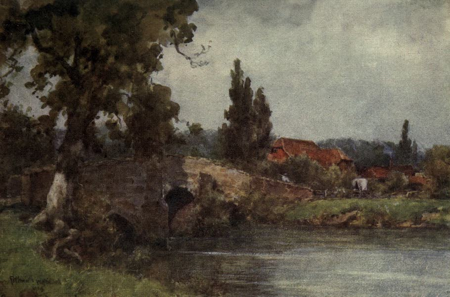 Sussex Painted and Described - Amberley Chalk Pits (1906)