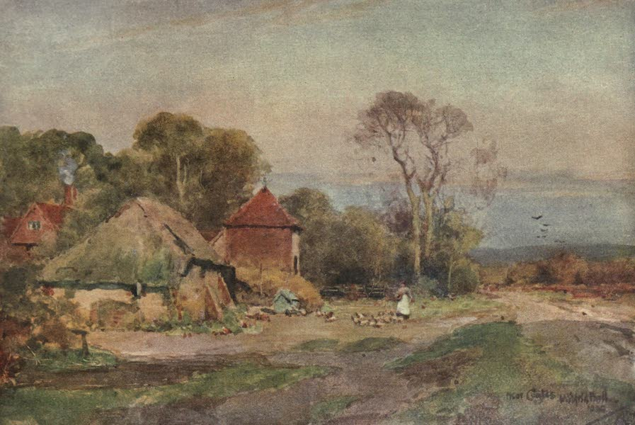Sussex Painted and Described - Midhurst, Knock Hundred Row (1906)