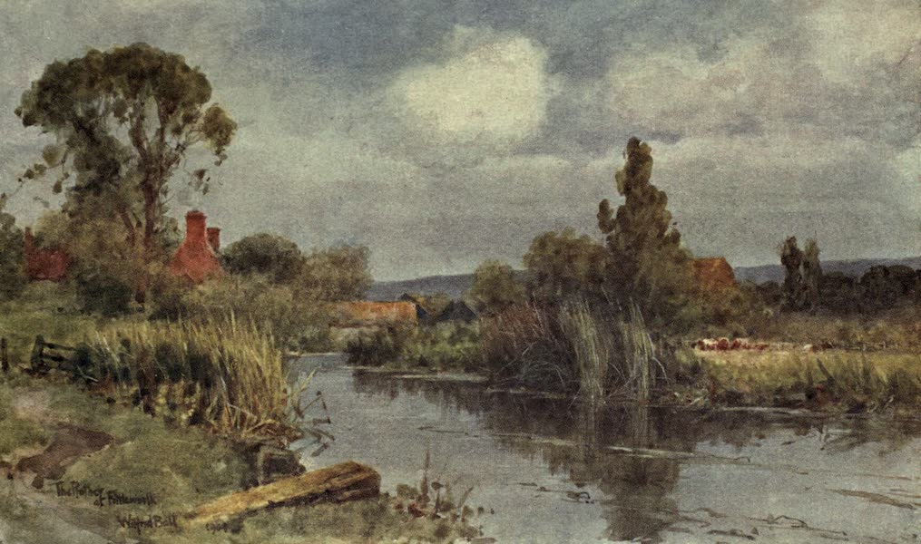 Sussex Painted and Described - Angmering Mill (1906)