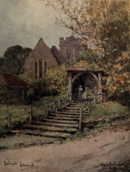 Sussex Painted and Described - Fittleworth Water Mill (1906)