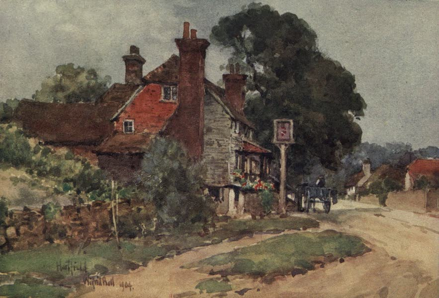 Sussex Painted and Described - Cottages at Mayfield (1906)