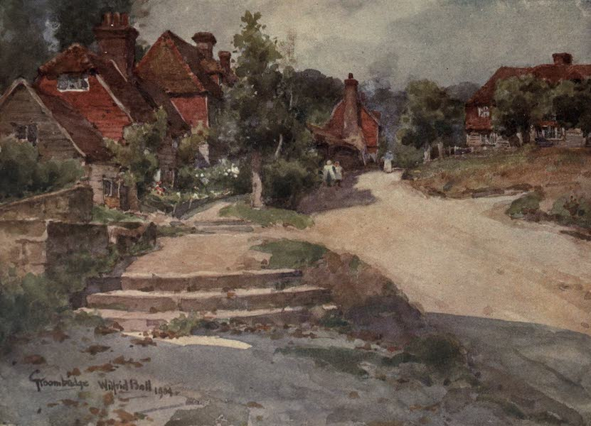 Sussex Painted and Described - Old Whiting Mill, Midhurst (1906)