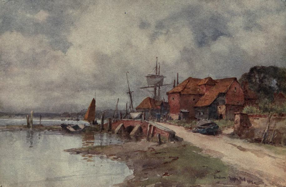 Sussex Painted and Described - Mill Pool, Midhurst (1906)