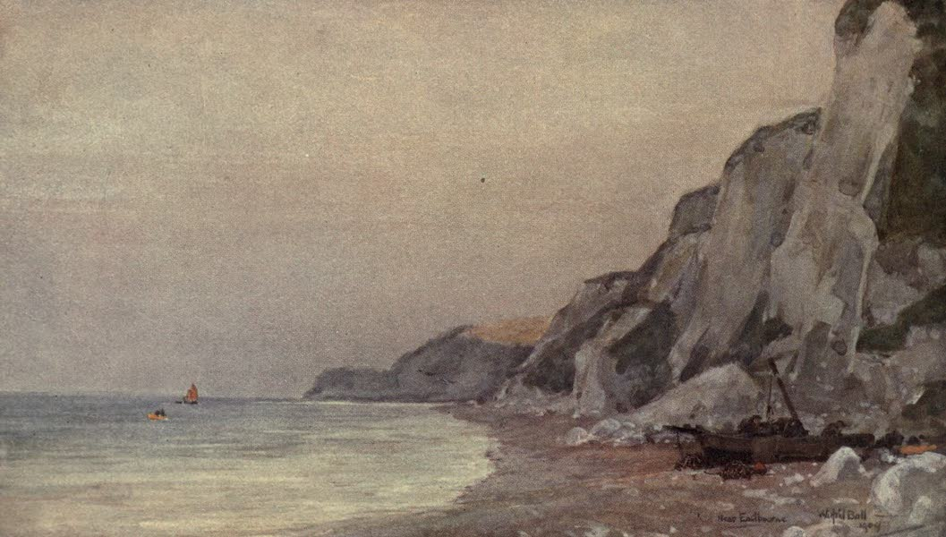 Sussex Painted and Described - The Arun, near Pulborough (1906)