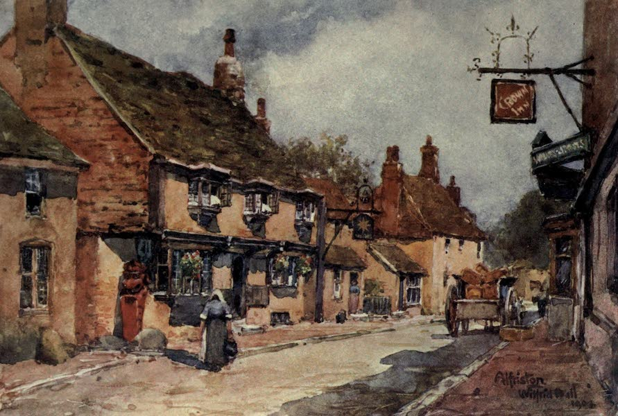 Sussex Painted and Described - The Star Inn, Alfriston (1906)