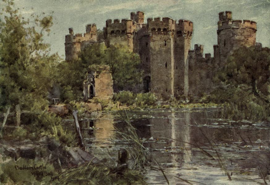 Sussex Painted and Described - Bodiam Castle (1906)