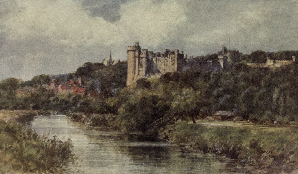 Sussex Painted and Described - Arundel Castle (1906)