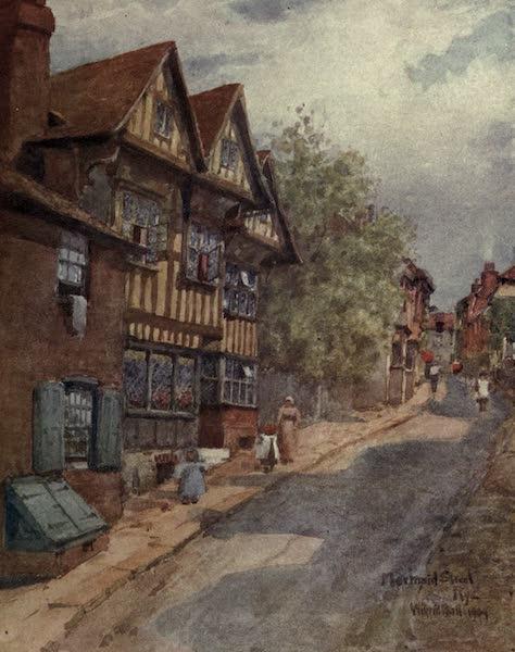 Sussex Painted and Described - Mermaid Street, Rye (1906)