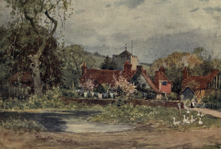 Sussex Painted and Described - Singleton (1906)
