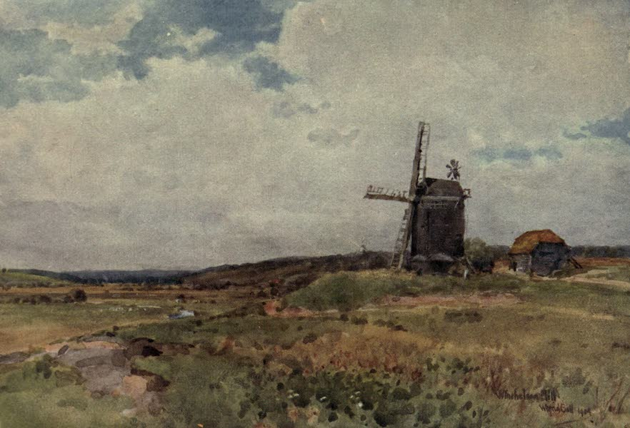 Sussex Painted and Described - Winchelsea Mill (1906)