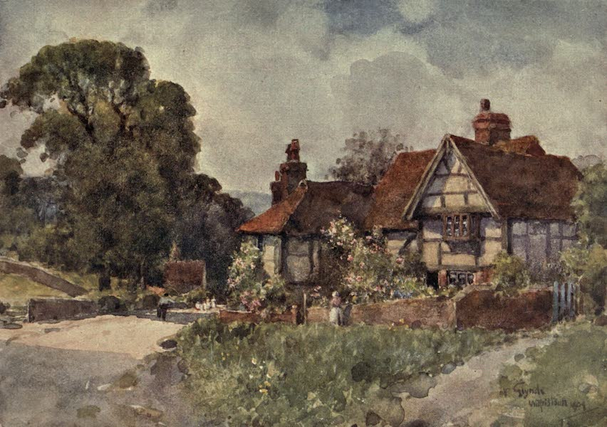 Sussex Painted and Described - Glynde (1906)