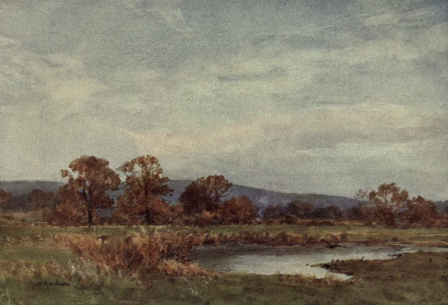 Sussex Painted and Described - Near Hardham (1906)