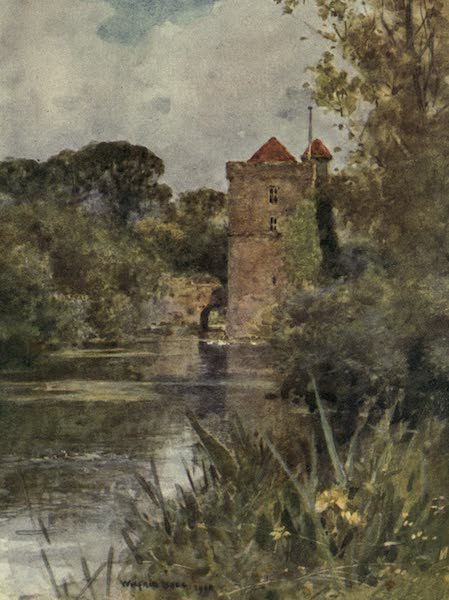Sussex Painted and Described - Mickleham Priory (1906)