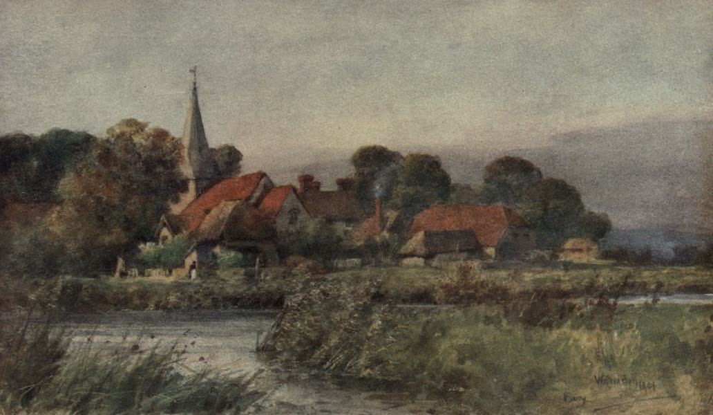 Sussex Painted and Described - Bury Church (1906)