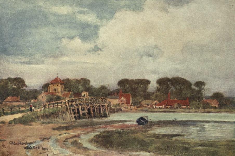 Sussex Painted and Described - Old Shoreham Bridge (1906)
