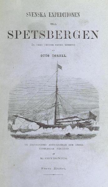 Svenska expeditionen till Spetsbergen - Front Cover (1865)