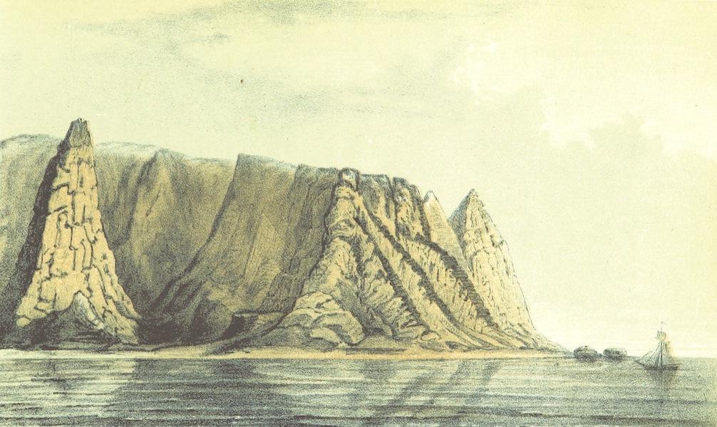 Svenska expeditionen till Spetsbergen - Amsterdam Eiland d. 25 Juli (1865)