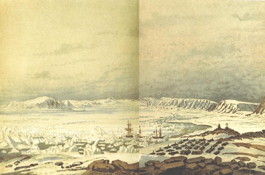 Svenska expeditionen till Spetsbergen - Treureneg Bay (1865)