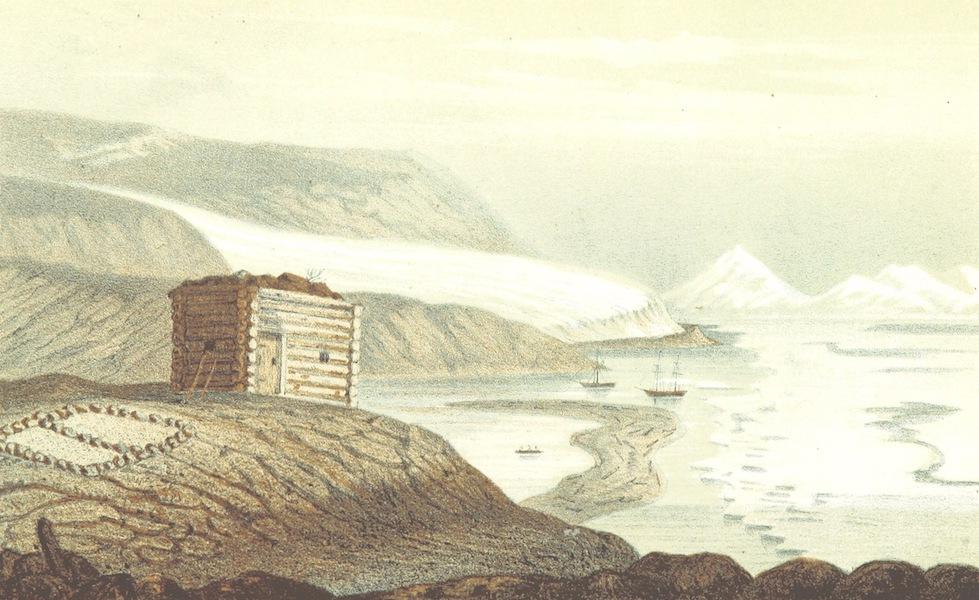 Svenska expeditionen till Spetsbergen - Aldert Dirkses Bugt Wijde Bay d. 12 Juli 1861 (1865)