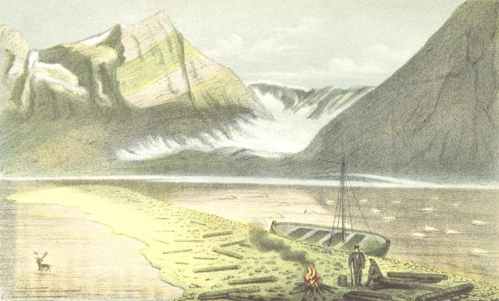 Svenska expeditionen till Spetsbergen - Wijde Bay I Det Infre af Vestra Armen (1865)