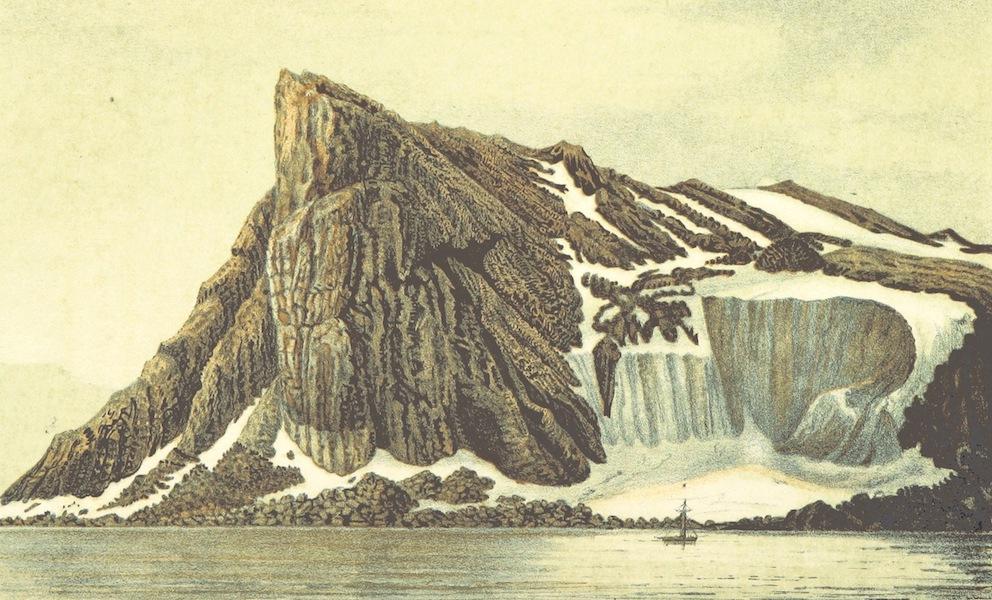 Svenska expeditionen till Spetsbergen - Ostra Norskon, Nordpynten d. 23 Juli 1861 (1865)