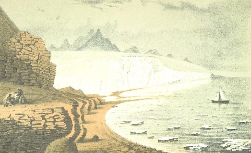 Svenska expeditionen till Spetsbergen - Glacier Gross Bay d. 7 Aug (1865)