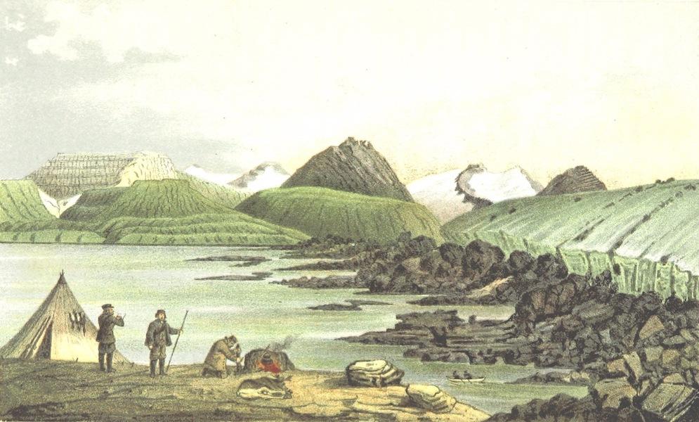 Svenska expeditionen till Spetsbergen - Green Harbour I Is-Fiord 24/8 64 (1865)