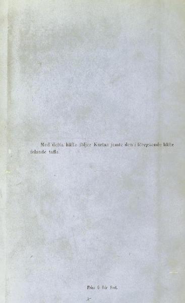 Svenska expeditionen till Spetsbergen - Back Cover (1865)