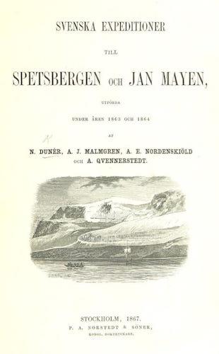 Svenska Expeditioner till Spetsbergen och Jan Mayen (1867)