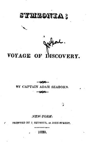 Symzonia: A Voyage of Discovery (1820)
