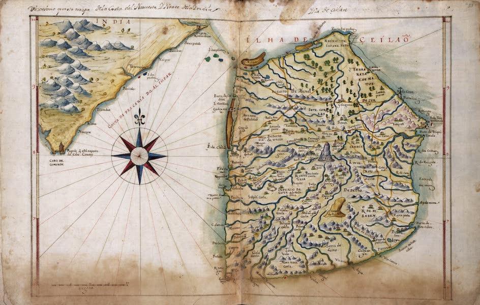 Chart of Ceylon
