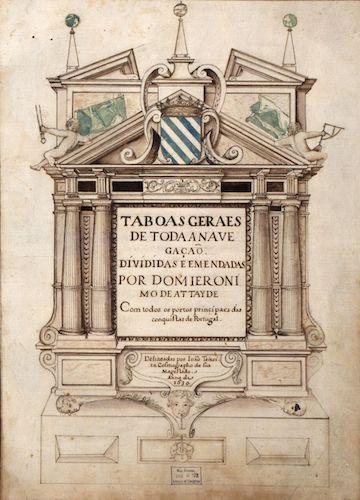 Library of Congress - Taboas Geraes de Toda a Navegação