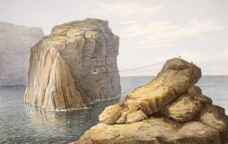 Temple Ante-Diluvien dit des Geants - Roche detachee de l'isle de Gozo; appelle Pierre du General (1830)