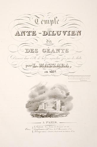 French - Temple Ante-Diluvien dit des Geants