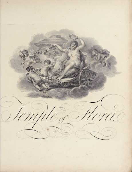 Temple of Flora - Title Page [I] (1812)