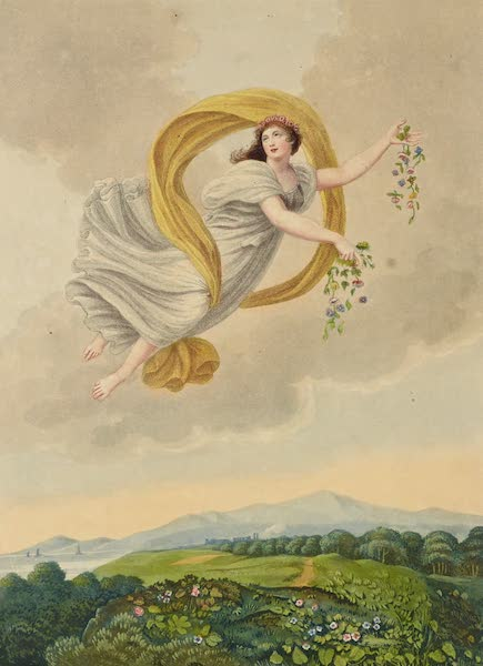 Temple of Flora - Flora Dispersing Her Favours on the Earth (1812)