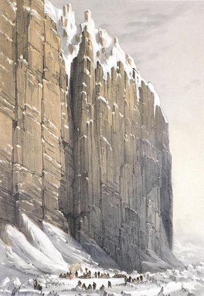 Ten Coloured Views Taken During the Arctic Expedition - The Bivouac, Cape Seppings, Leopold Island (1850)