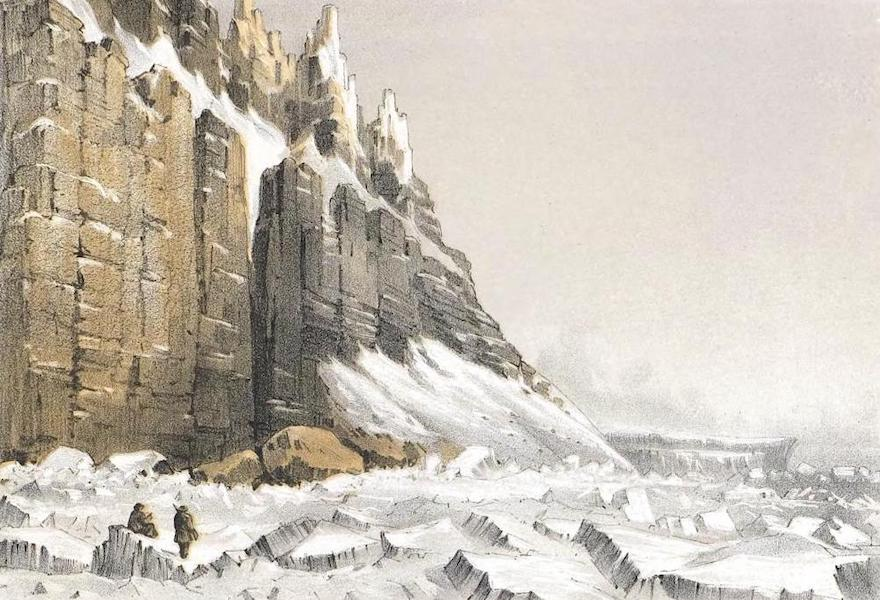 Ten Coloured Views Taken During the Arctic Expedition - North-East Cape of America and Part of Leopold Island (1850)
