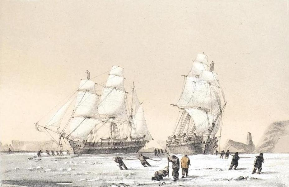 Ten Coloured Views Taken During the Arctic Expedition - The Devil's Thumb (1850)