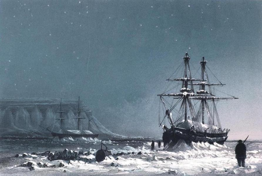 Ten Coloured Views Taken During the Arctic Expedition - Noon in Mid-Winter (1850)