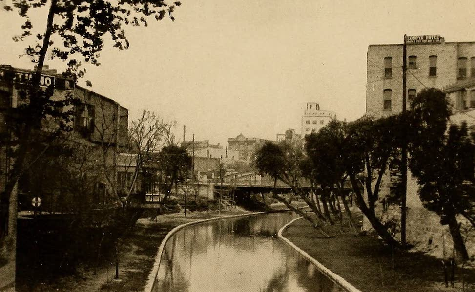 Texas, the Marvellous, the State of the Six Flags - The San Antonio River (1916)