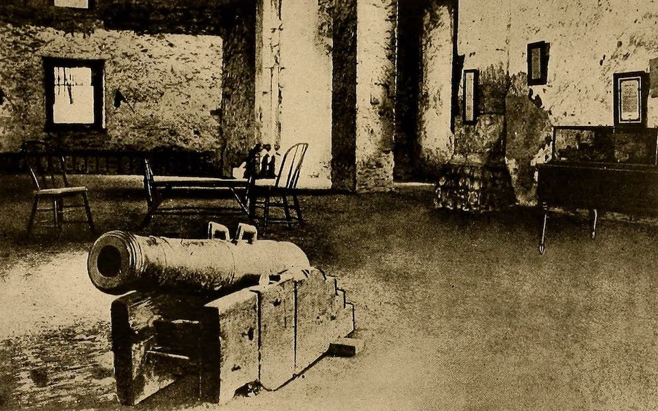 Texas, the Marvellous, the State of the Six Flags - Interior of the Alamo (1916)